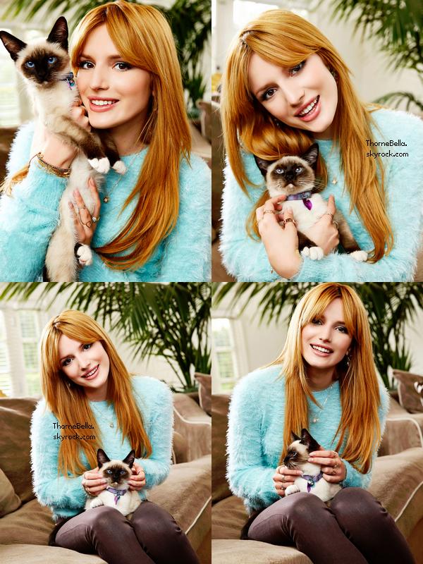 Nouveau photoshoot de Bella pour OK magazine. (Partie 1)