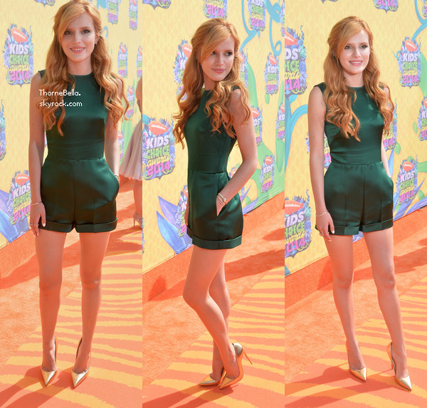 Bella était au Kids Choice Awards le 29 mars 2014.