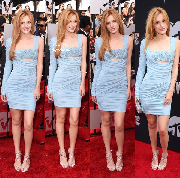 Bella au MTV Movie Awards le 13 avril 2014.