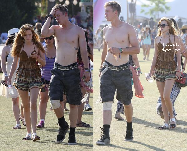 Bella au festival de Coachella le 20 avril 2014.