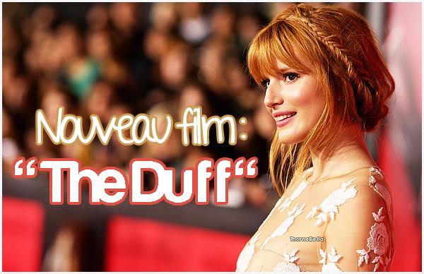 """Bella rejoint le cast de """"The Duff""""."""