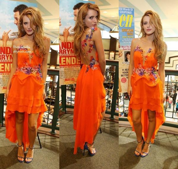 Bella en meet&greet à Miami le 18 mai 2014.