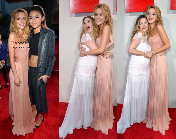 Bella s'est rendue à la première de Blended le 21 mai 2014.