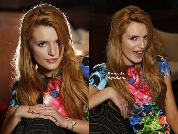 Bella a réalisé un photoshoot pour le magazine Women's Wear Daily.