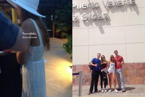 Bella est au Mexique à Nuevo Vallarta le 3 juillet 2014.