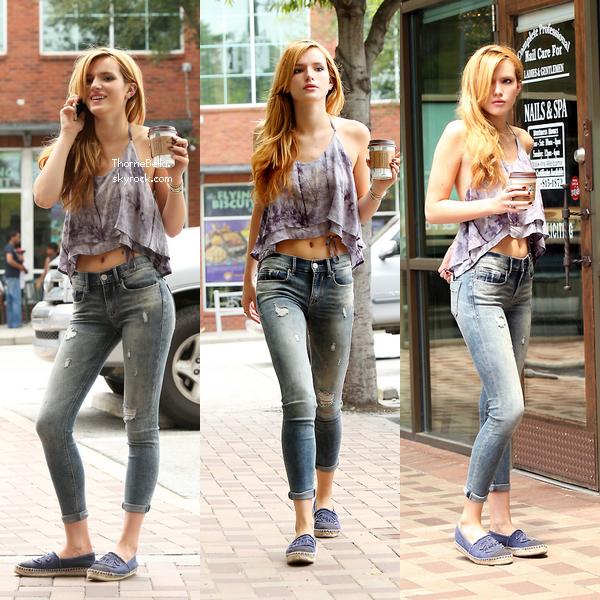 Bella à Los Feliz le 7 juillet 2014.