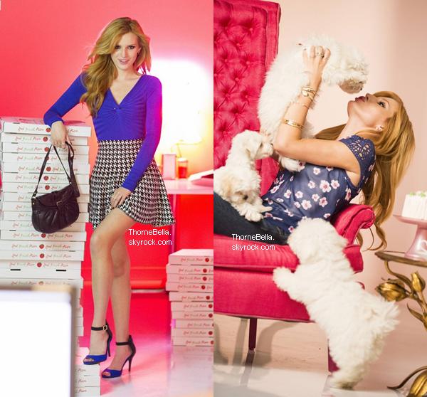 Nouvelles photos de Bella pour la collection automne de la marque Candie's. Vous aimez ?