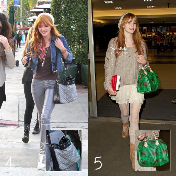 Bella a été vu avec plusieurs sacs Louis Vuitton mais quel est ton préféré?