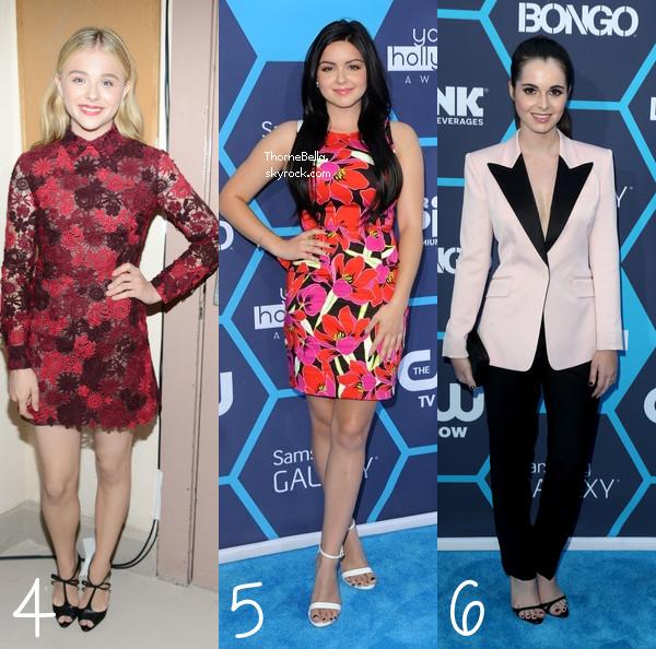 YOUNG HOLLYWOOD AWARDS       * Elles ont assisté aux Young Hollywood Awards, mais qui était la mieux habillée?   *