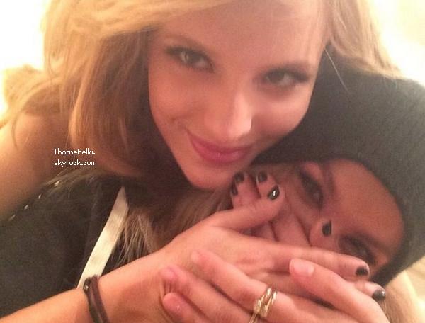 Bella et Tristan a été vu quittant les Young Hollywood Awards le 27 juillet 2014.