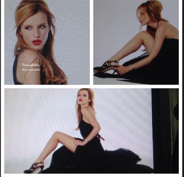 Bella a réalisé un nouveau photoshoot pour Sherri Hill.