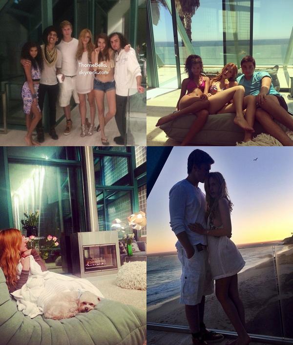 Nouvelles photos twitter de Bella du 16 août.