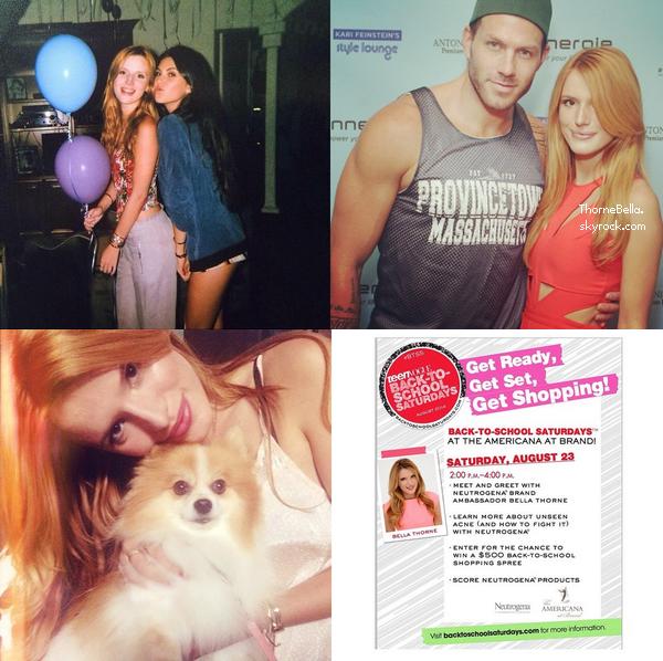 Bella a été vu au Kari Feinstein's Style Lounge 22 août 2014.