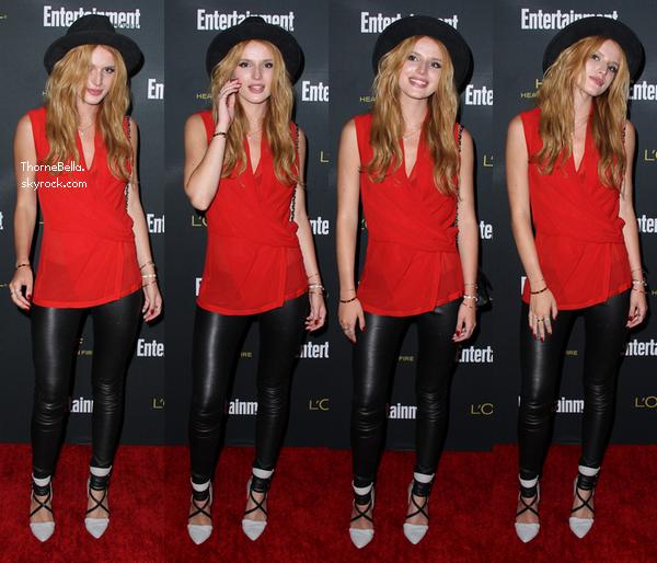 Bella à la soirée des pré-Emmy organisé par Entertainment Weekly le 23 août 2014.