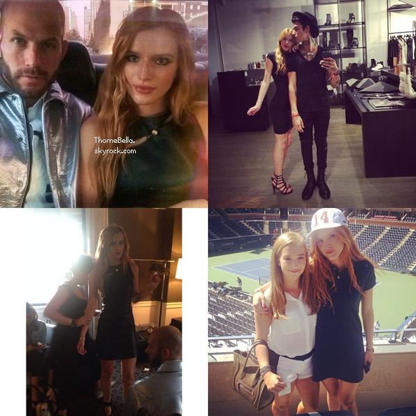Bella s'est rendue au défilé Versus Versace à NYC le 7 septembre.
