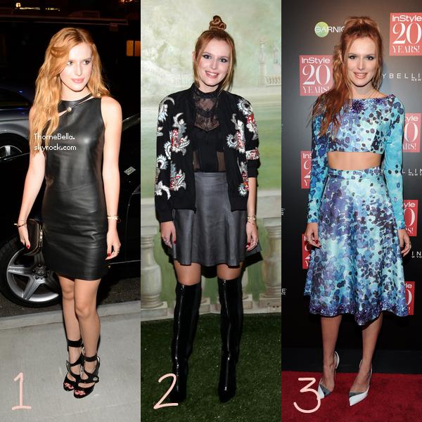 Choisissez votre plus beau top et le pire flop de Bella à la fashion week new-yorkaise.