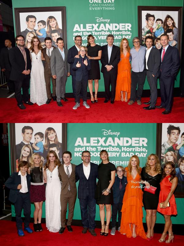 Bella a la première d'Alexander le 6 octobre.