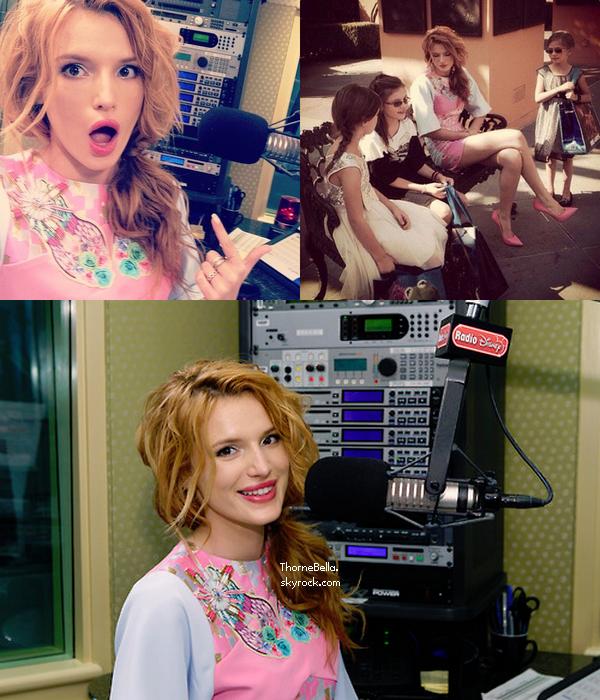 Bella chez Radio Disney le 12 octobre.