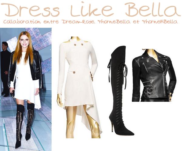 Bella était présente à la soirée des KDB's Spring Collection le 16 octobre 2014.