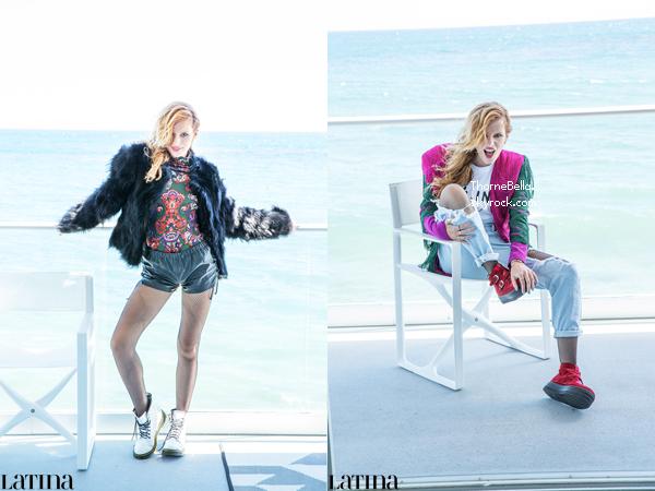 Bella en couverture du magazine Latina de décembre et janvier. Que pensez-vous de ce nouveau shoot?