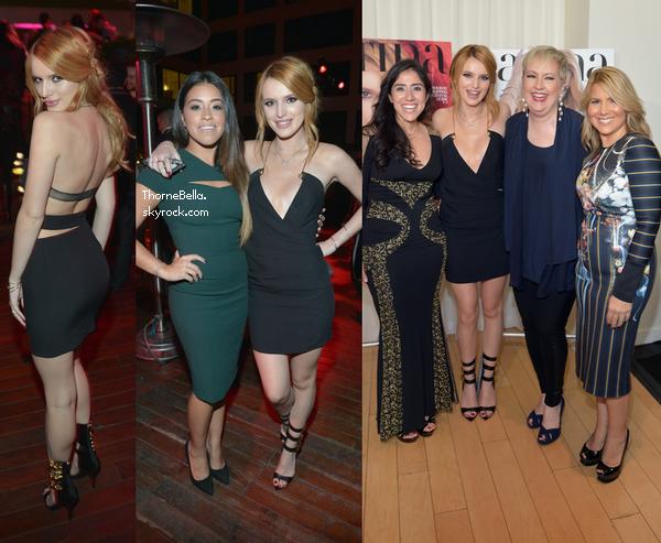 Bella à la soirée de Latina Magazine le 13 octobre 2014.