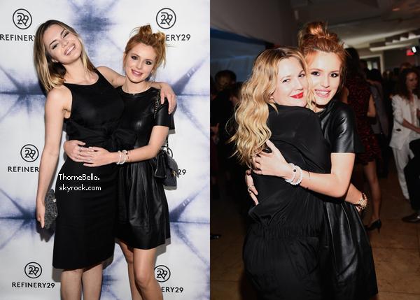 Bella s'est rendue à la soirée Refinery29 Holiday Party à Los Angeles le 10 décembre.
