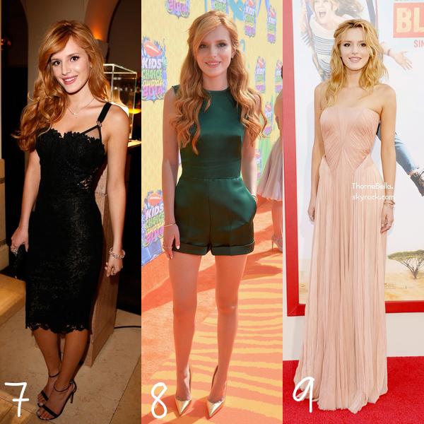 Votez pour le plus beau top de Bella sur les tapis rouges en 2014.