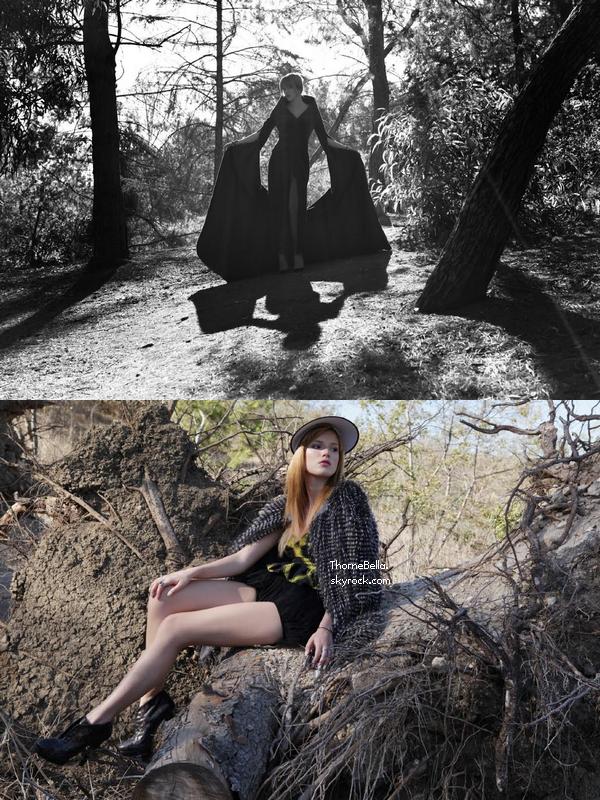 Nouvelles photos d'un shoot que Bella a réalisé en 2013 pour Flaunt magazine.Votre avis?