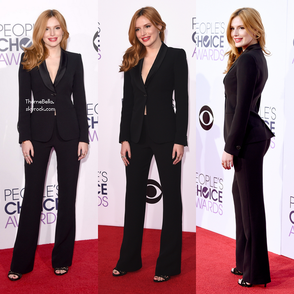 Bella au People Choice Awards 2015 le 7 janvier.