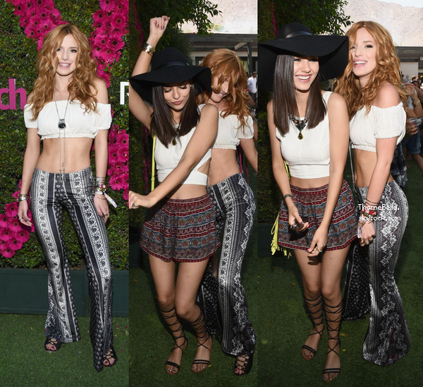 Bella a Coachella le 11 avril.
