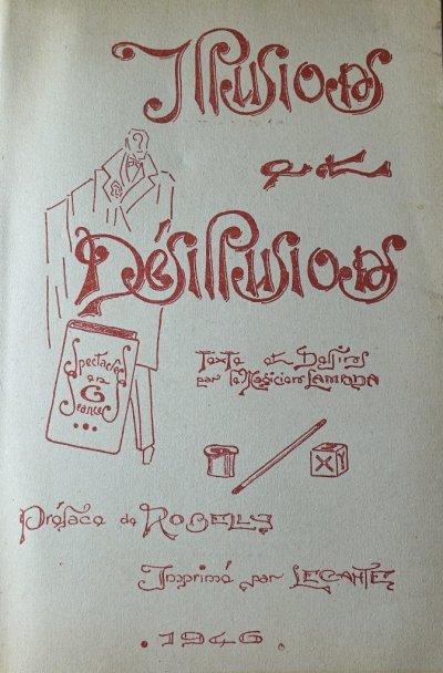 Lambda - Illusions et désillusions - 1946 - Cat: livres rares et anciens illusionnisme