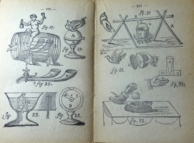 Lecomte - Tours de magie - 1850 - Cat: livres rares magie