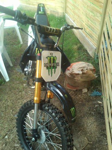 ma dirt 125 orion monster