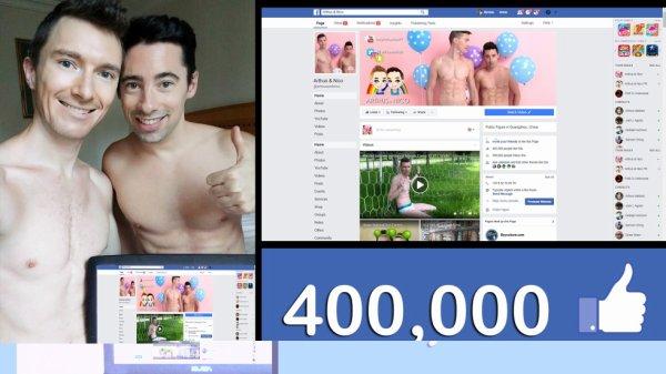 400 000 fans sur facebook !