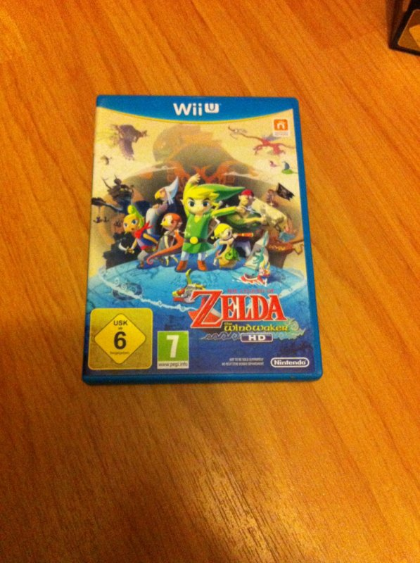 The legend of zelda : wind waker HD