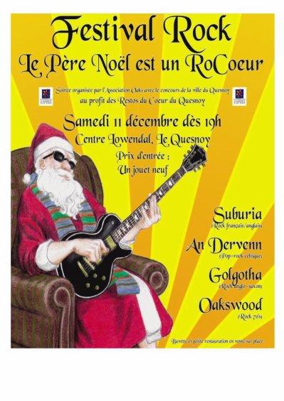 Le pere Noel est un rockeur