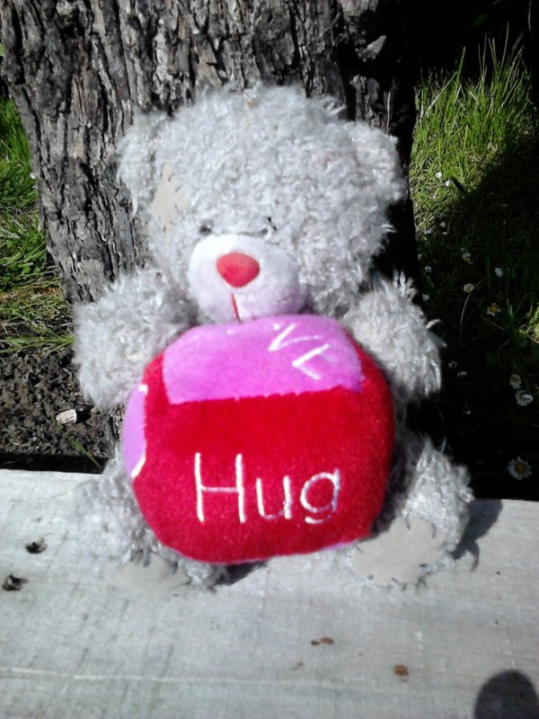 ours me to you love hug