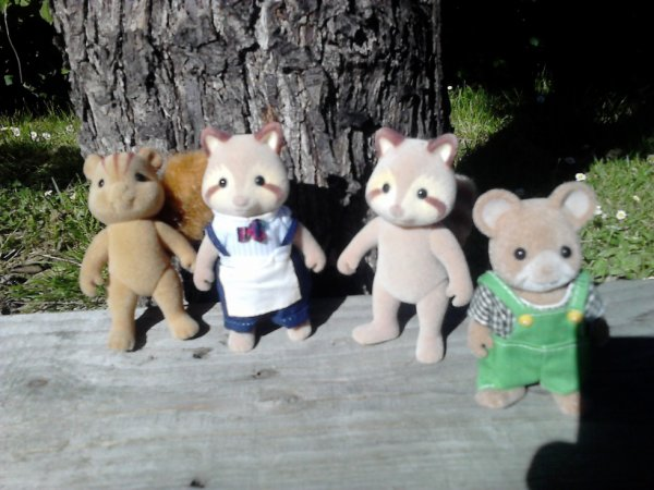 personnages sylvanian
