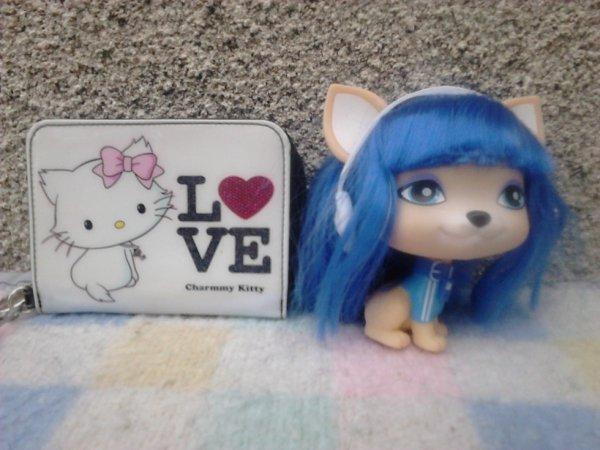 porte monnaie hello kitty et petit chien spain