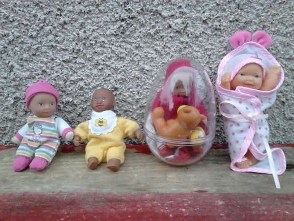 divers minis bebes simba et autres