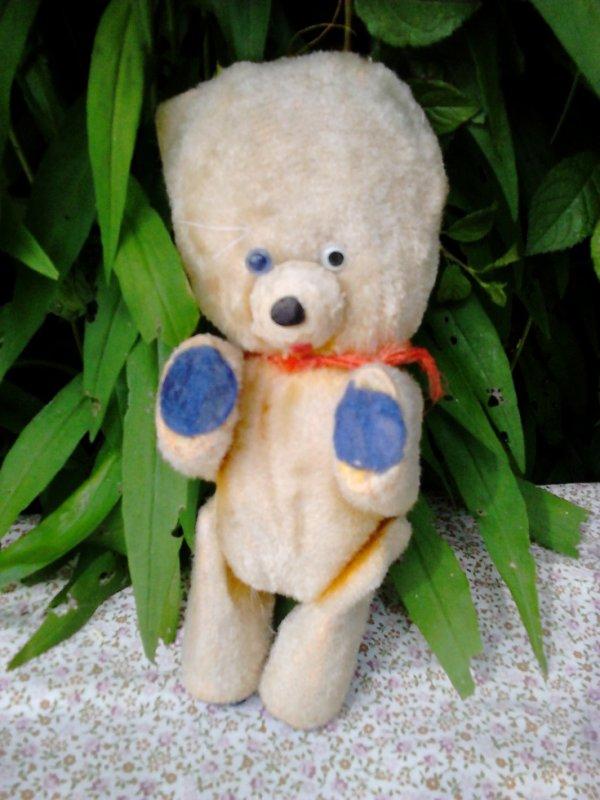 petit ours ancien 19cm