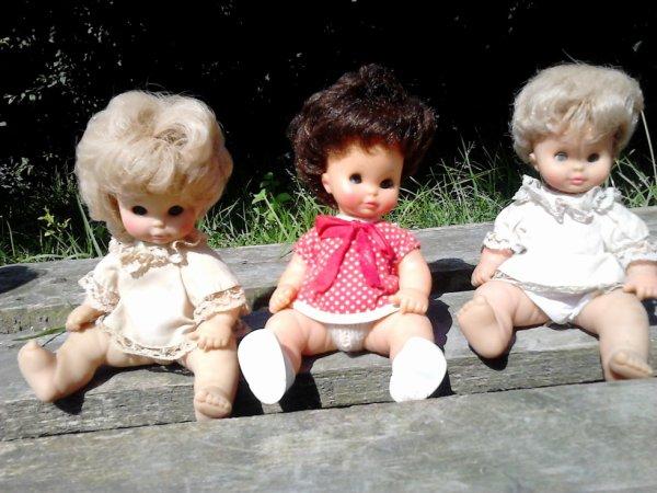 3 clodrey 2 bambino et 1 bambinette