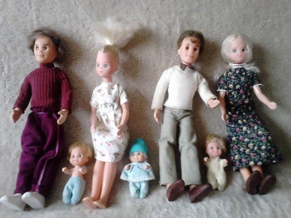 poupees sunshine family 1973 mattel