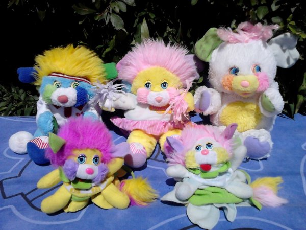 lot de peluches popples annees 80's a vendre ou echanger