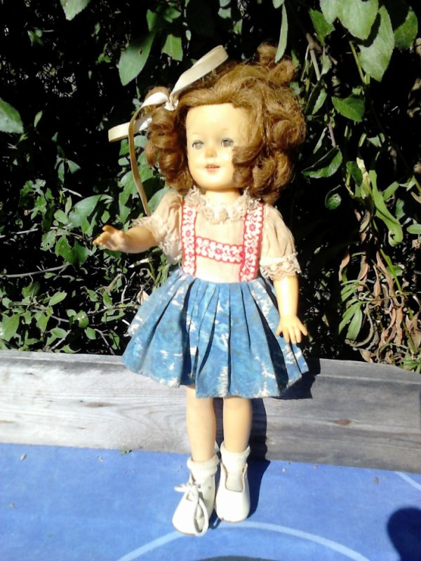 shirley temple ideal toy 30cm