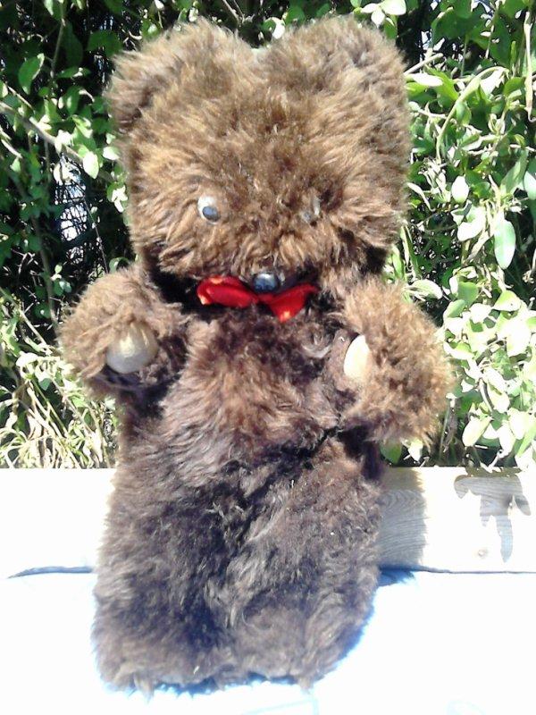 ours ancien 45cm