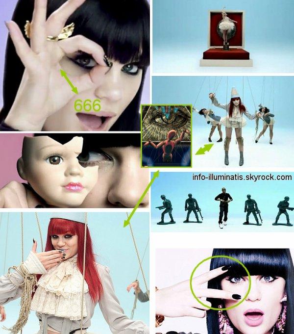 Jessie-J : Illuminati !