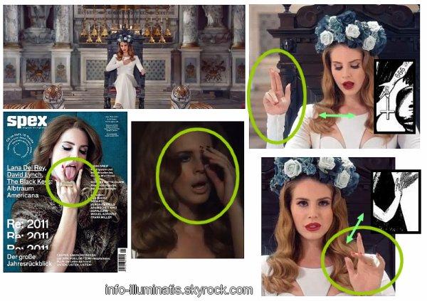 Lana del Rey : Illuminati !!