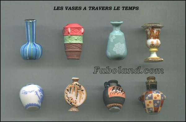 LES VASES A TRAVERS LE TEMPS