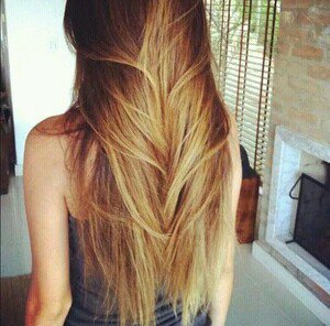 Combo parfait pour des cheveux brillant.♥